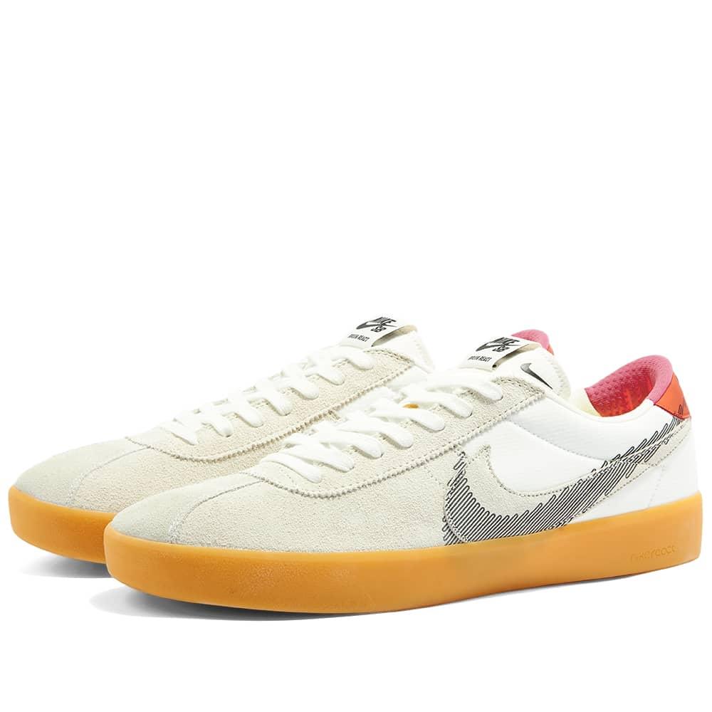 Nike SB Bruin React T - Summit White & Black