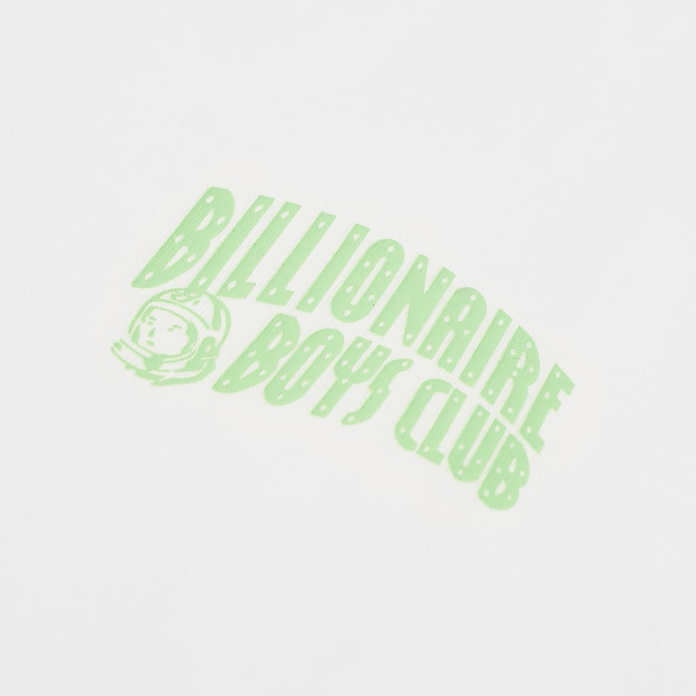 Billionaire Boys Club Small Arch Logo Highlight Tee - White & Green