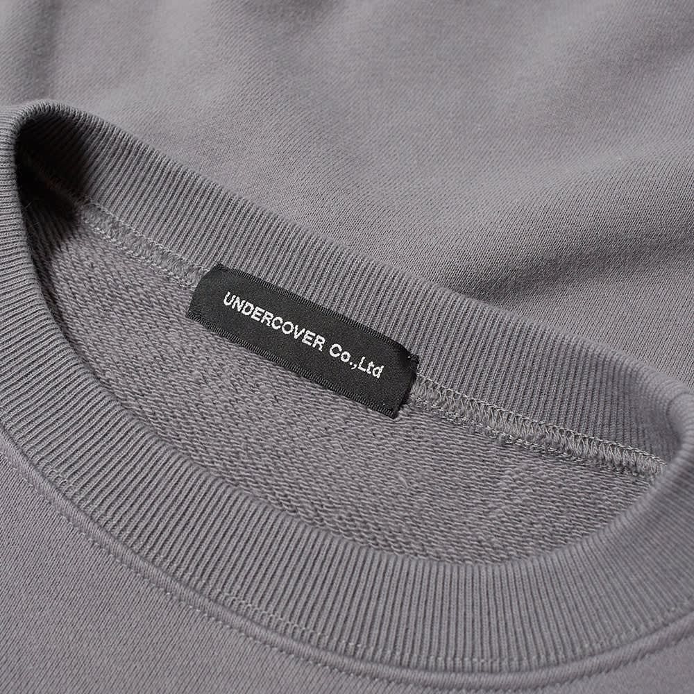 Undercover Undercoverism For Rebels Crew Sweat - Blue Grey