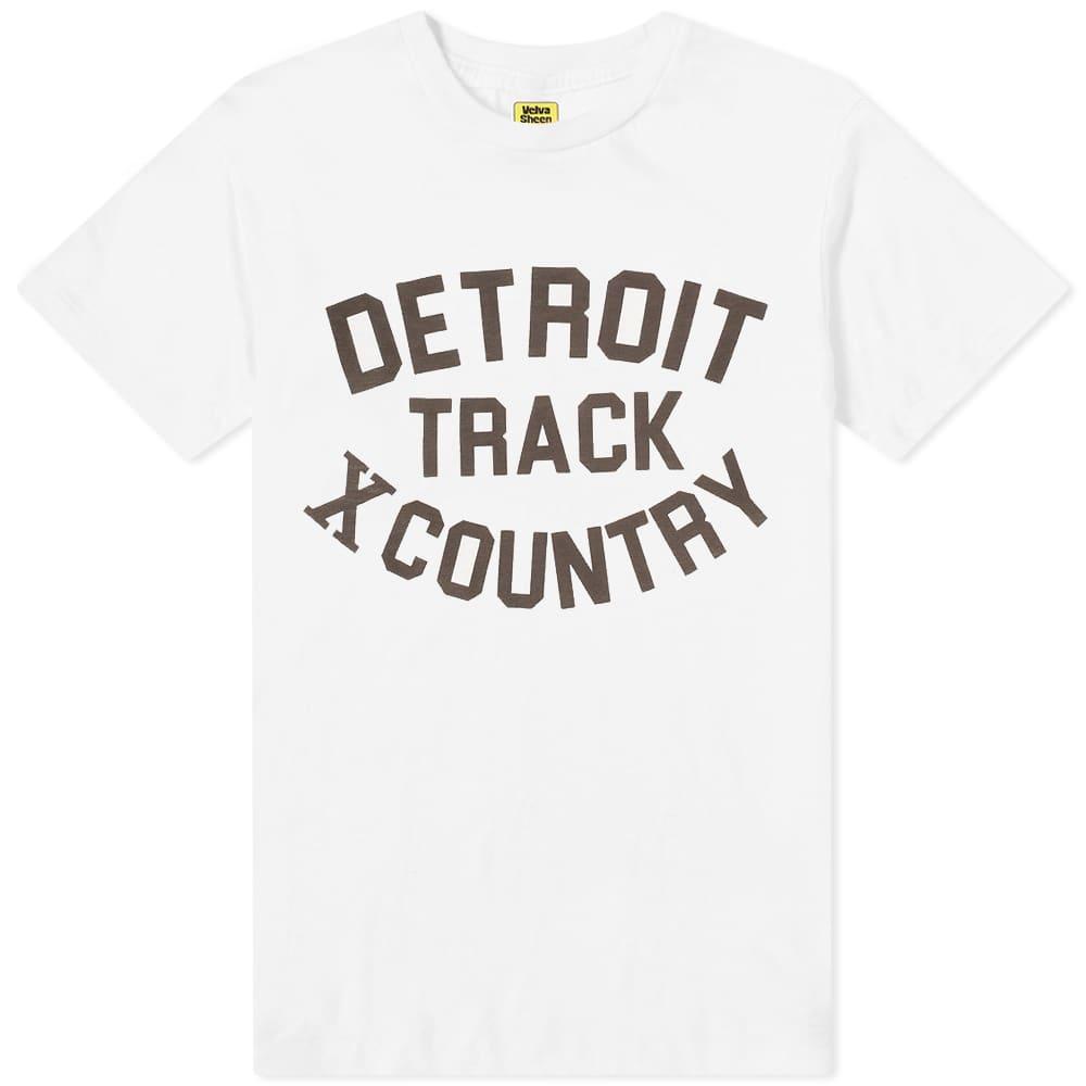 Velva Sheen Detroit Track Tee - White