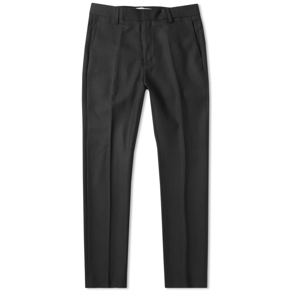 Norse Projects Thomas Wool Trouser - Charcoal Melange