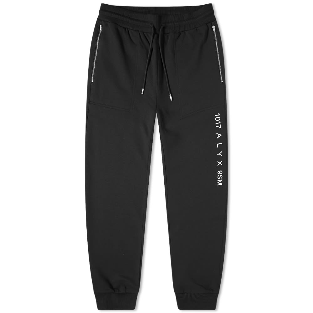 1017 ALYX 9SM Visual Sweat Pant - Black
