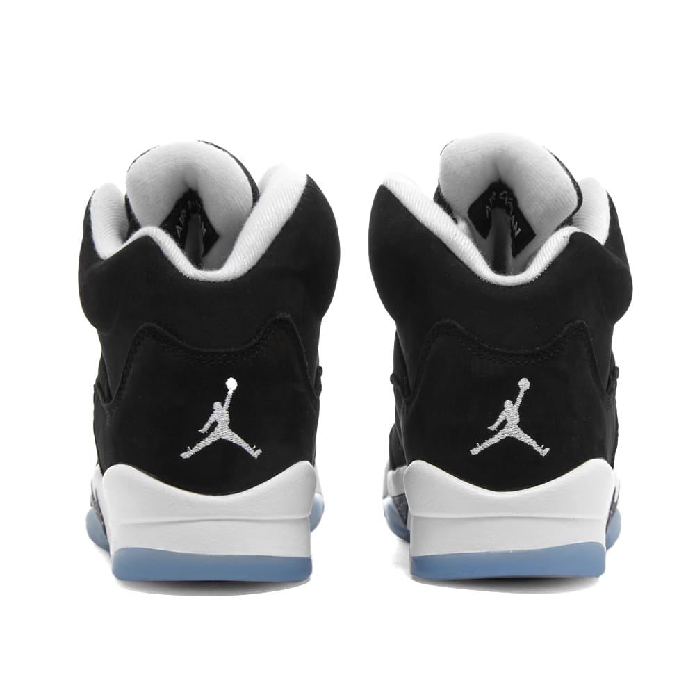 Air Jordan 5 Retro BG - Black & Cool Grey