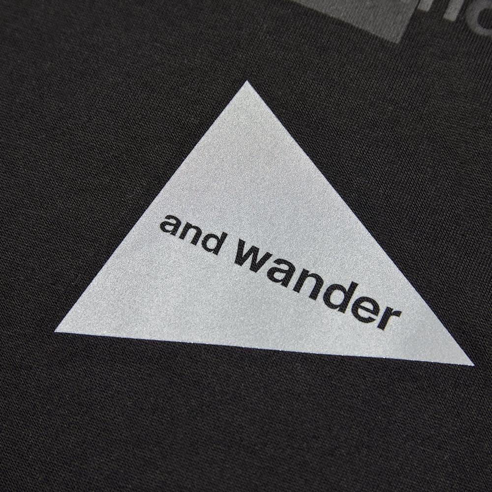 Moncler Genius x and wander Long Sleeve Mountain Tee - Black