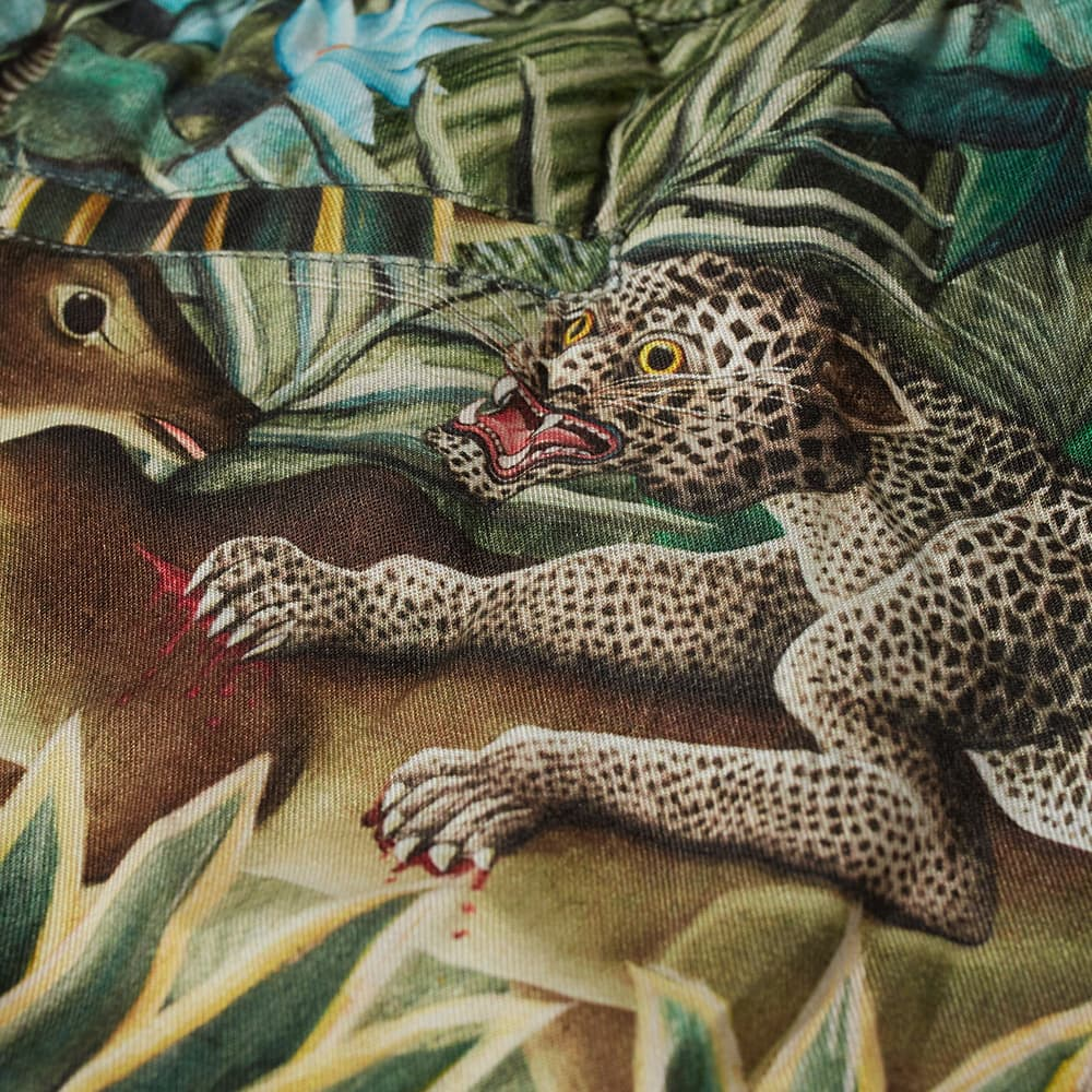 Endless Joy Jungle Print Short - Green & Multi