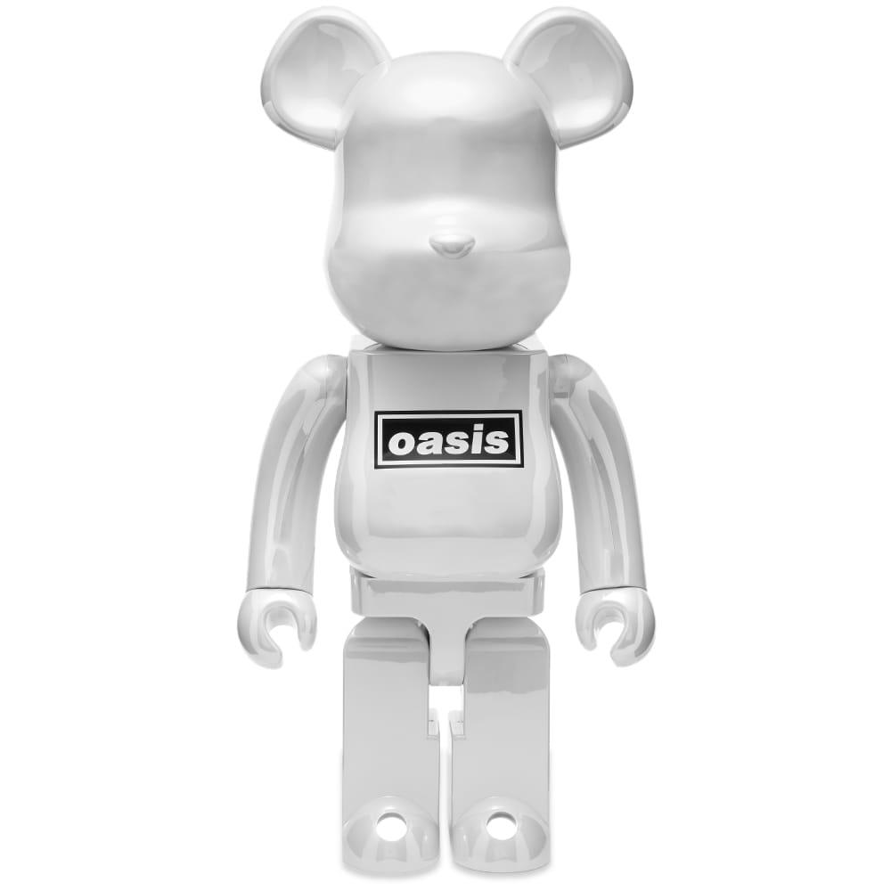 Medicom Oasis Be@rbrick - White Chrome 1000%