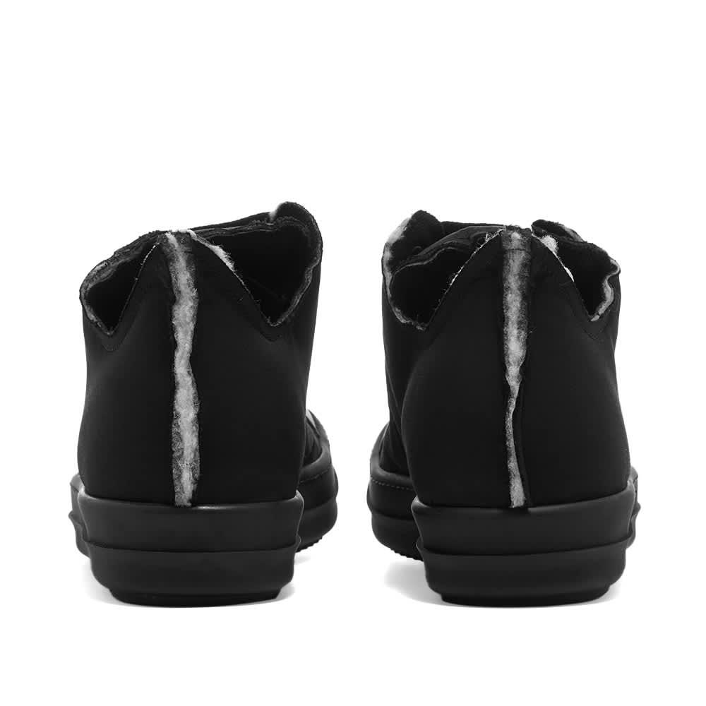 Rick Owens DRKSHDW Sneaks Cotton Nylon Low Sneaker - Black