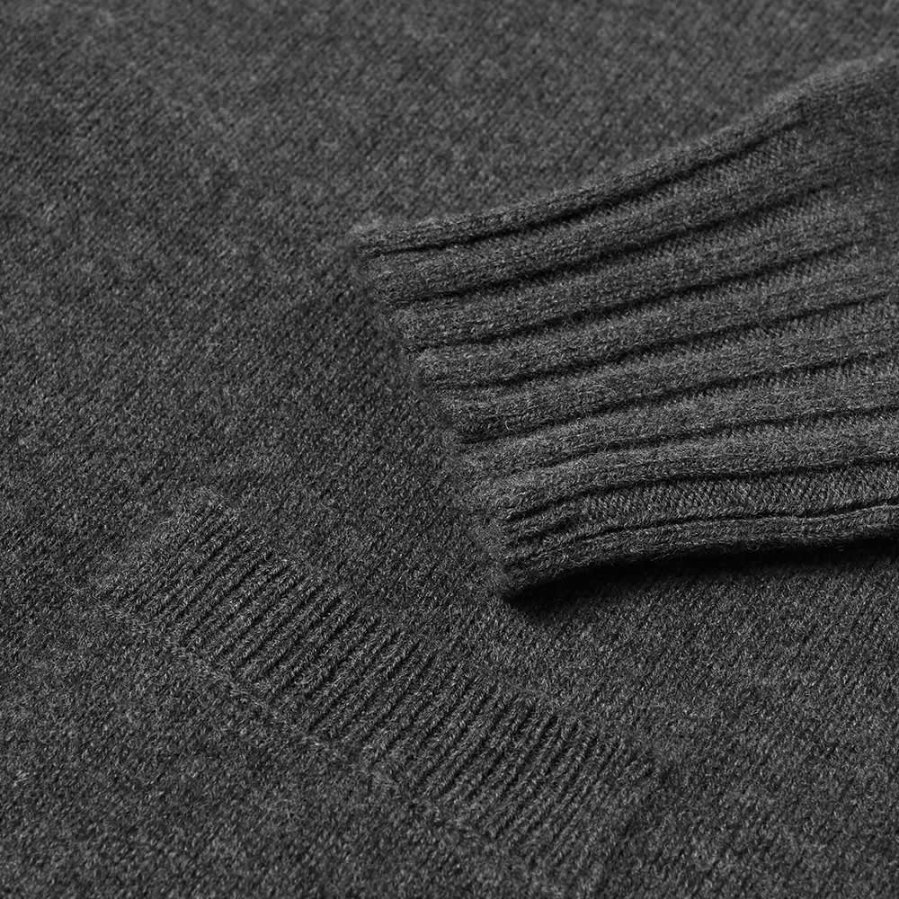 Margaret Howell Single Pocket Crew Knit - Charcoal