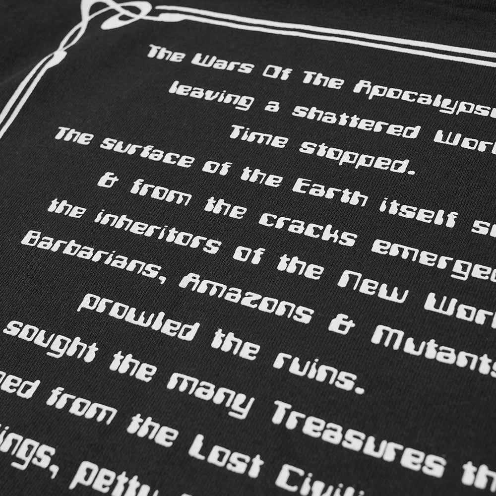 Vans Vault x Aries Long Sleeve Poetry Tee - Black