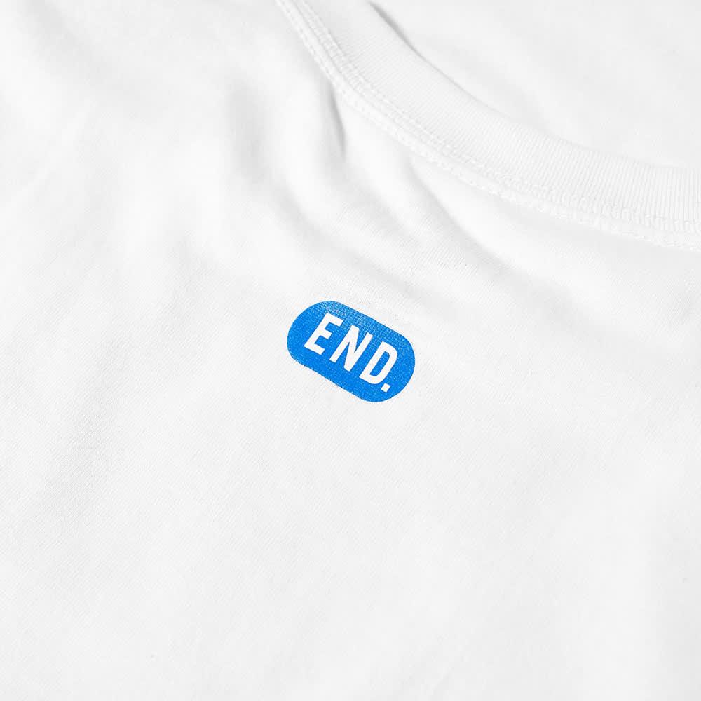 END. x Pleasures 'Sexual Satisfaction' Open Up Tee - White