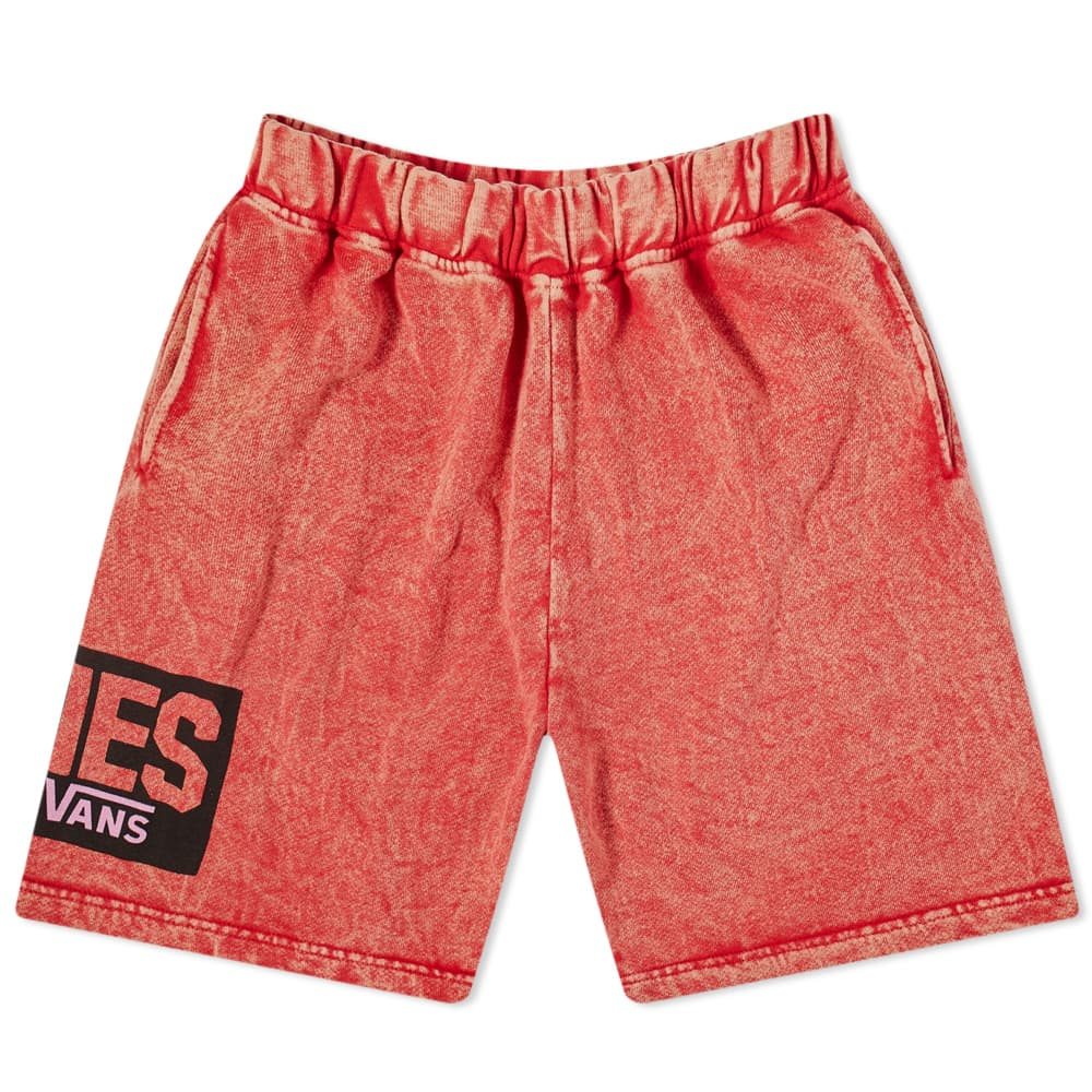 Vans Vault x Aries Fleece Short - Red