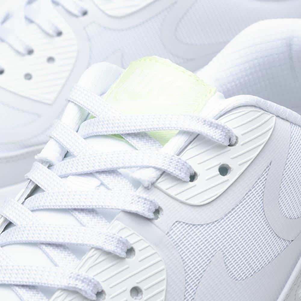 Ashley Furman batería Porque  Nike Air Max 90 Comfort Tape White, Geyser Grey & Lab Green   END.