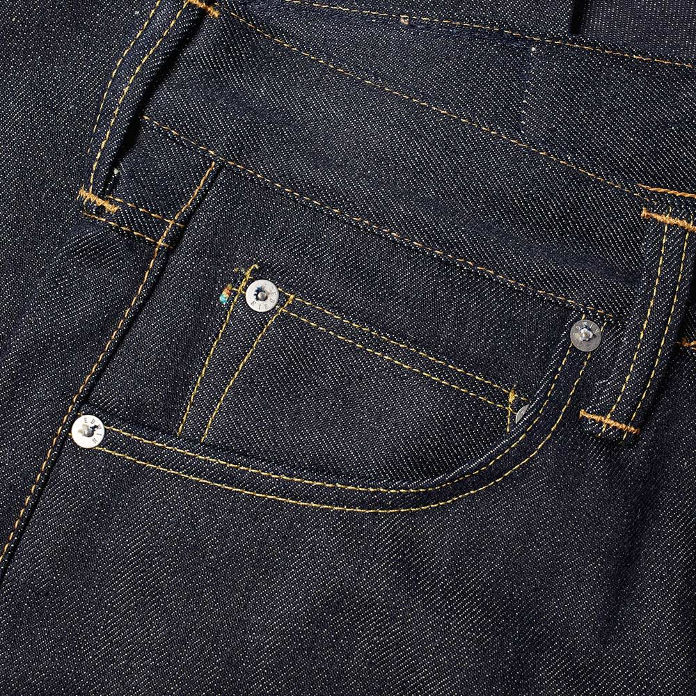Edwin ED-55 Regular Tapered Jean - Unwashed 63 Rainbow Selvedge