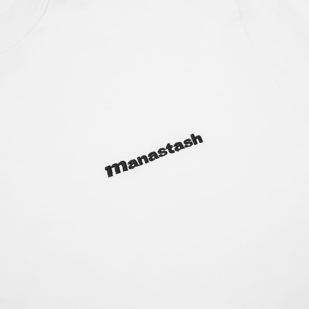 Manastash Long Sleeve Crew Tee - White