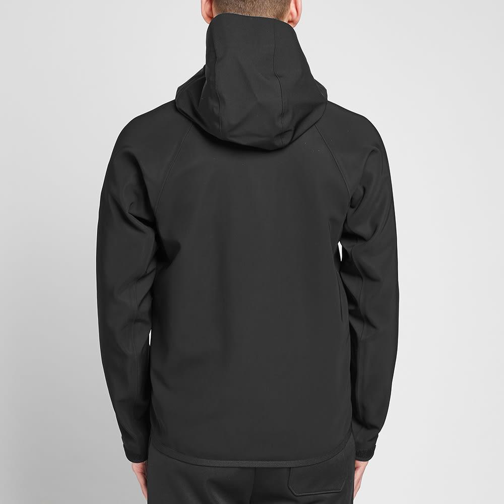 Moncler Grenoble Tricolore Zip Soft Shell Jacket - Black