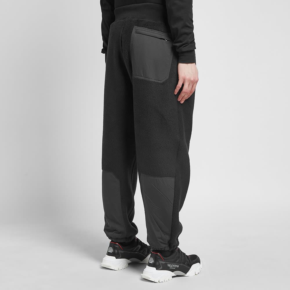 Undercover Polar Fleece Nylon Pants - Black