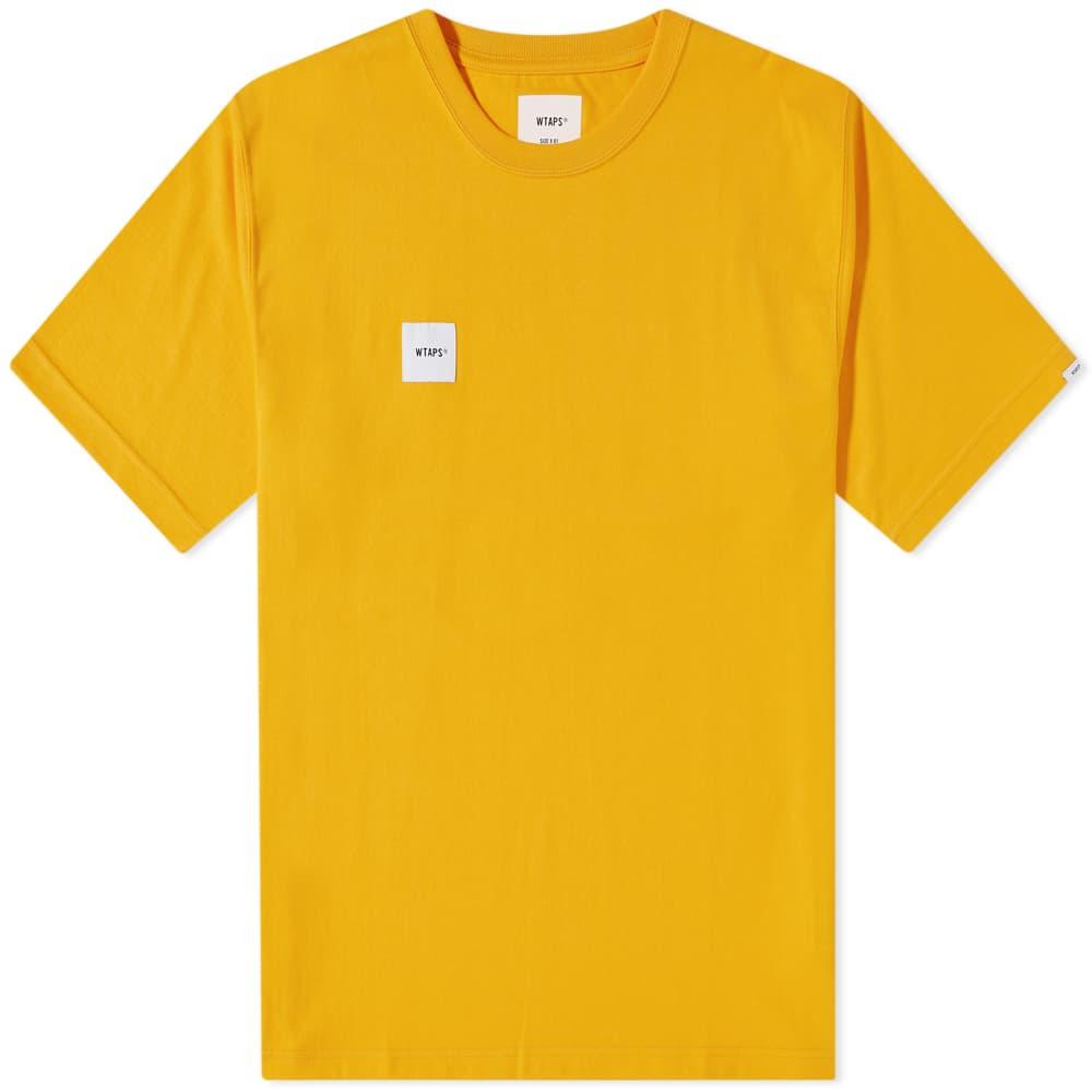 WTAPS Home Base Tee - Yellow
