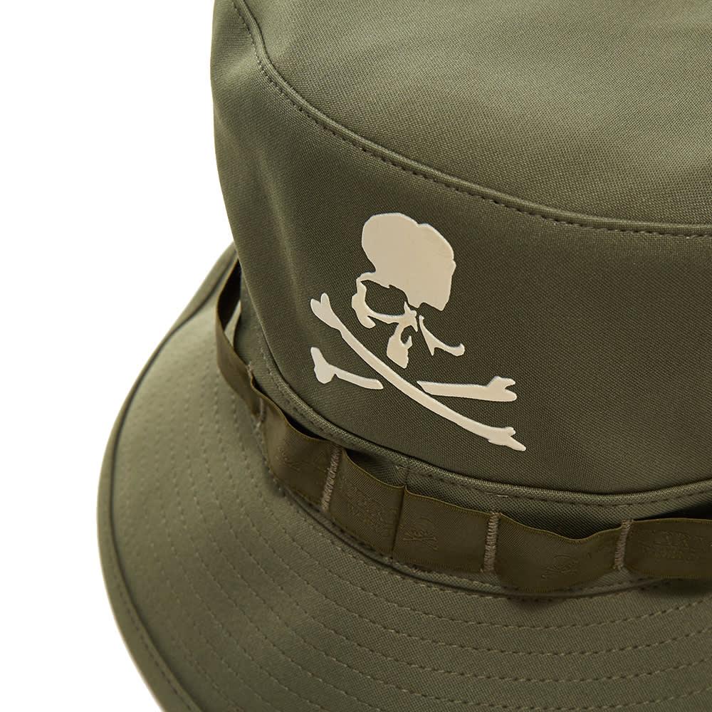 MASTERMIND WORLD Logo Bucket Hat - Olive