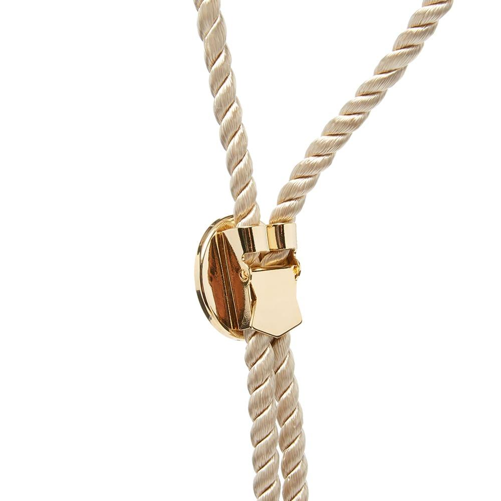 MASTERMIND WORLD Bolo Tie Necklace - Sand