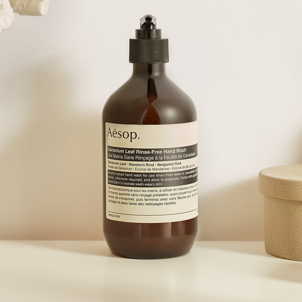 Aesop Geranium Leaf Rinse-Free Handwash - 500ml