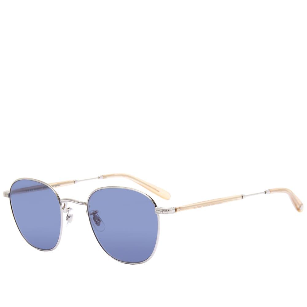 Garrett Leight World Sunglasses - Silver Blonde