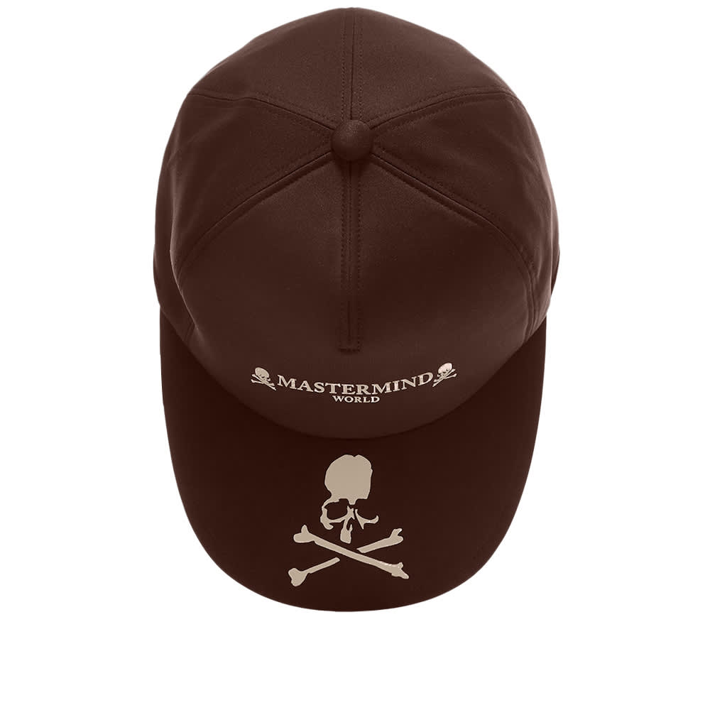 MASTERMIND WORLD Logo Skull Cap - Brown