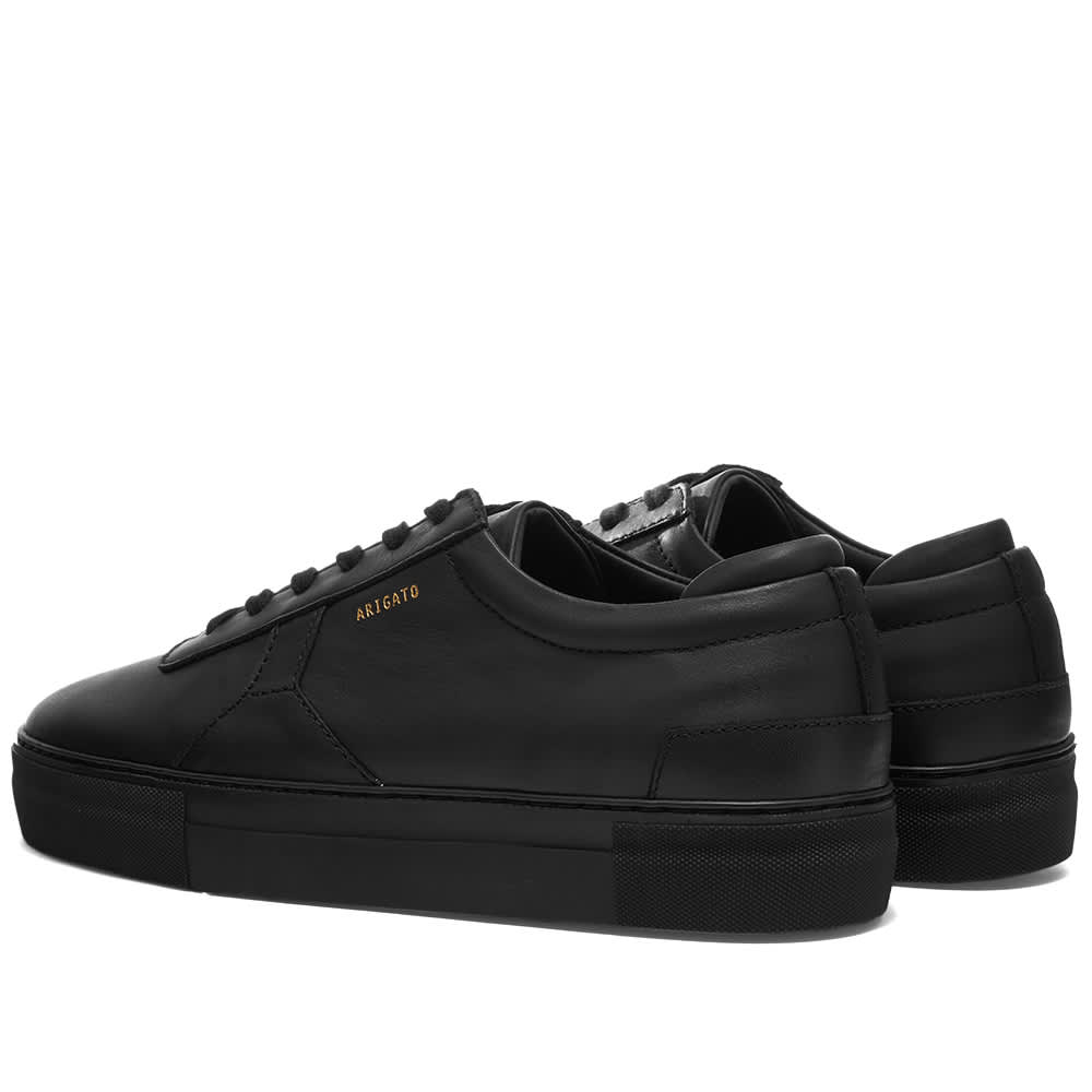Axel Arigato Platform Sneaker - Black Leather