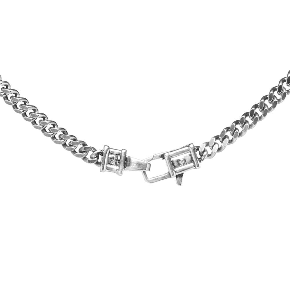 "Tom Wood 30"" Curb Chain M - Silver"