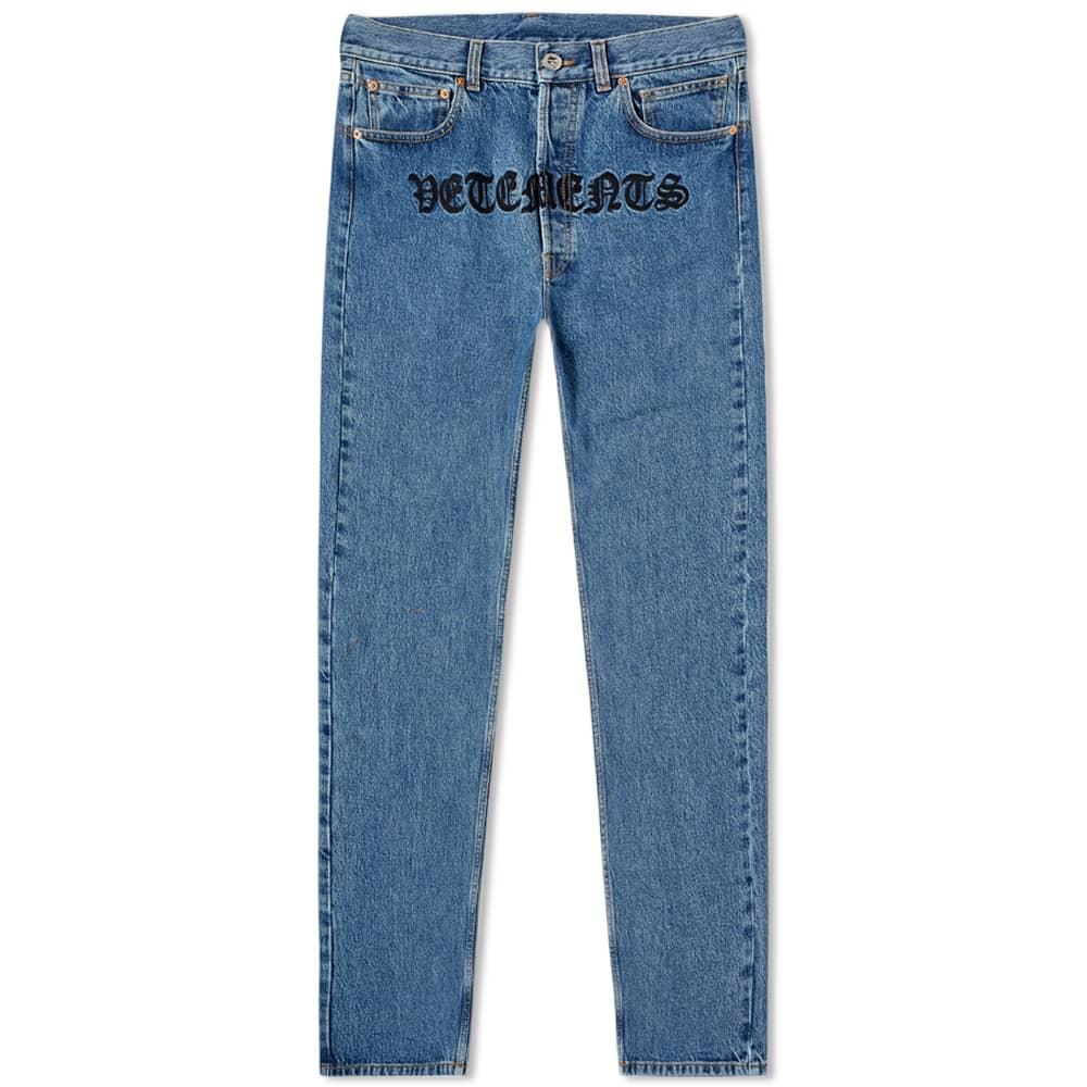 Vetements Gothic Jean