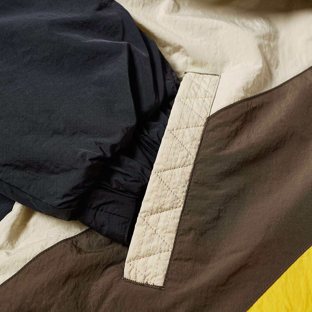 Li-Ning Padded Smock Jacket - Black, Brown & Grey