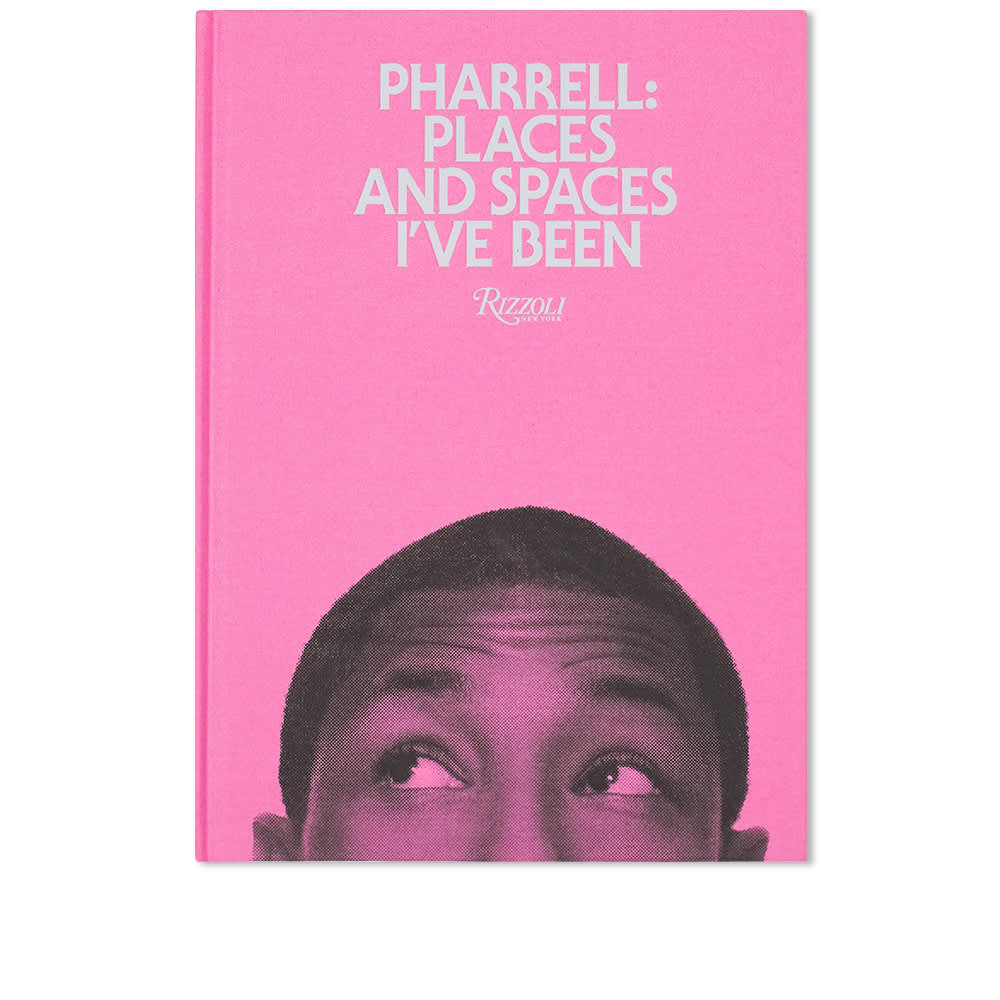 Pharrell: Places & Spaces I've Been - Pink Cover - Pharrell Williams
