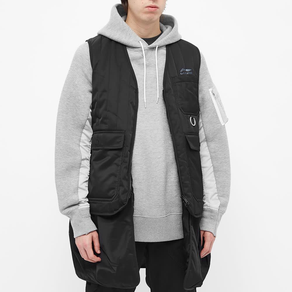 Li-Ning Quilted Vest - Black