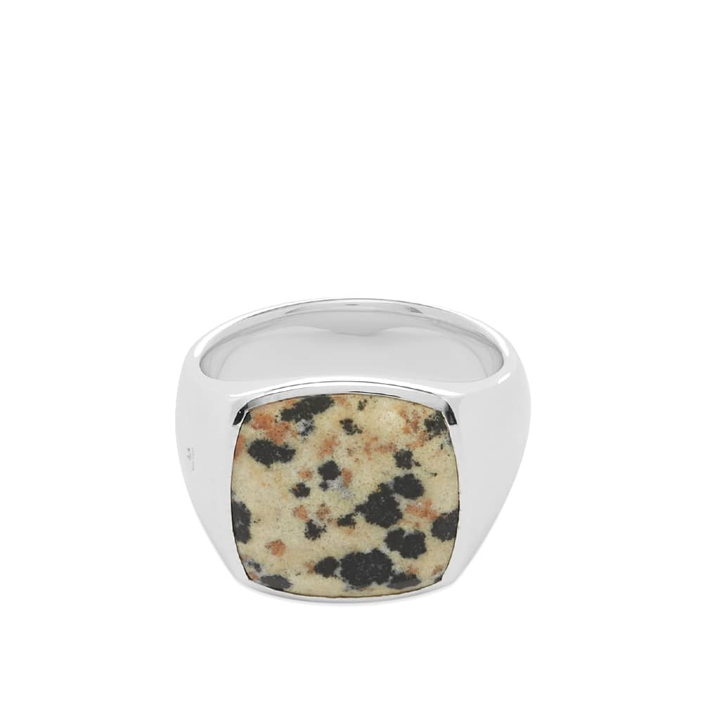 Tom Wood Cushion Leopard Ring - Sterling Silver