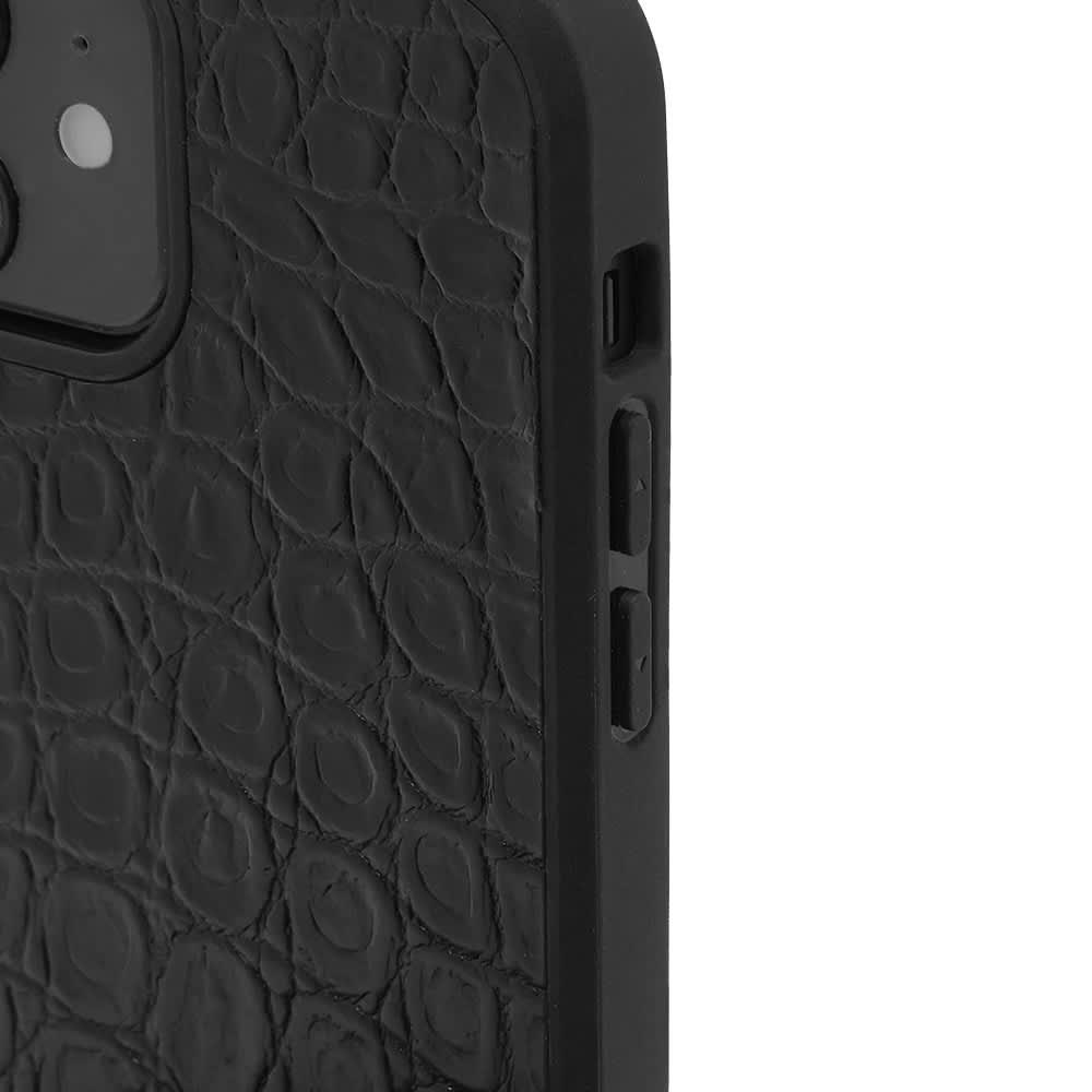 Versace Lanyard Phone Case - Black