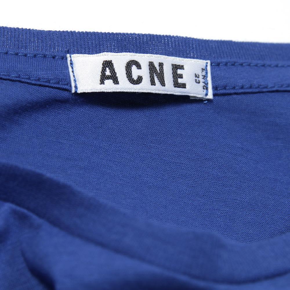 Acne Standard O Tee - Blue