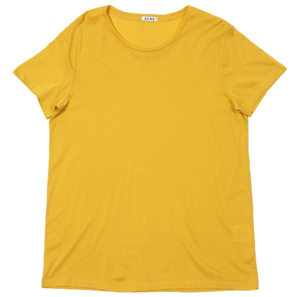 Acne Standard O Tee - Yellow