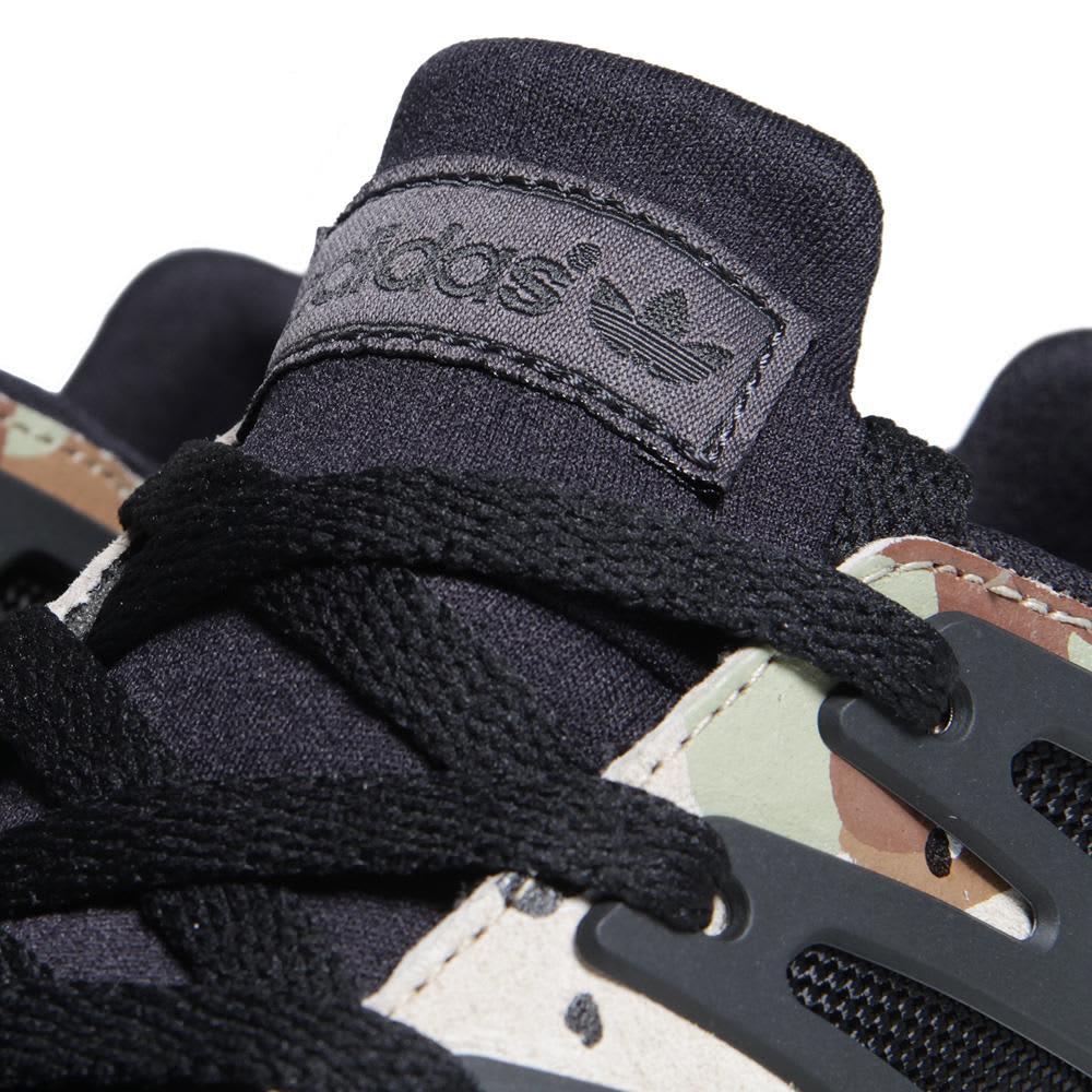 Adidas Torsion Allegra X - Black & White Vapour