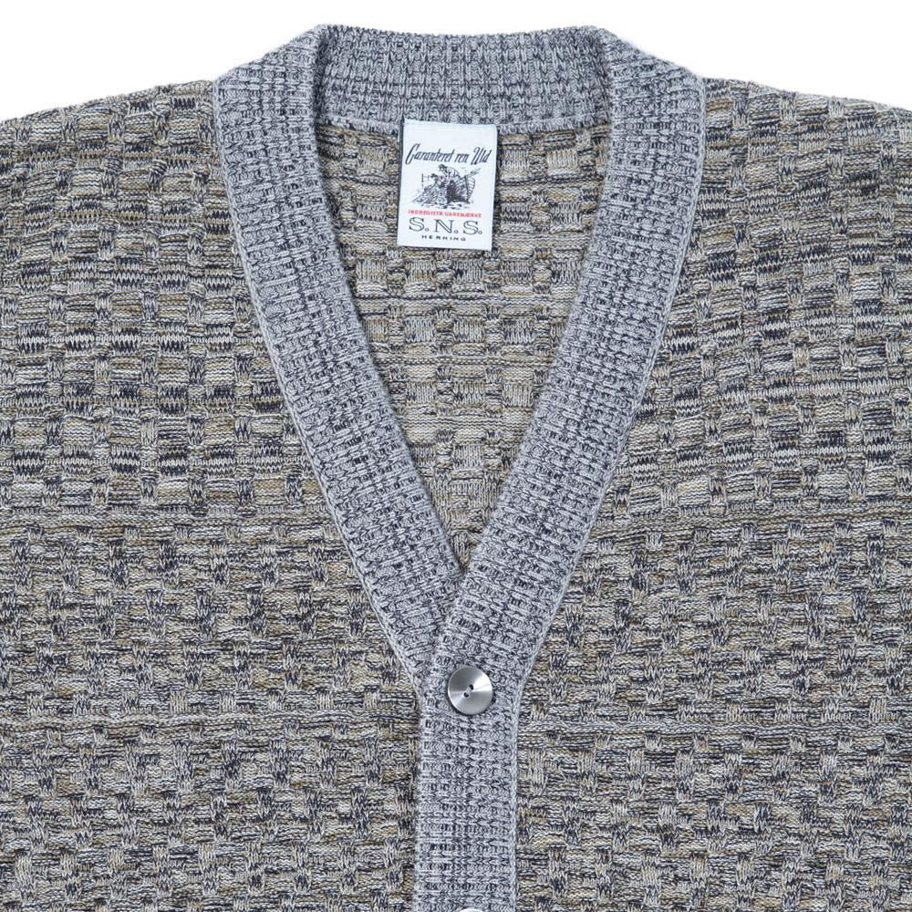 S.N.S Herning Emergent Cardigan - Grey Melange