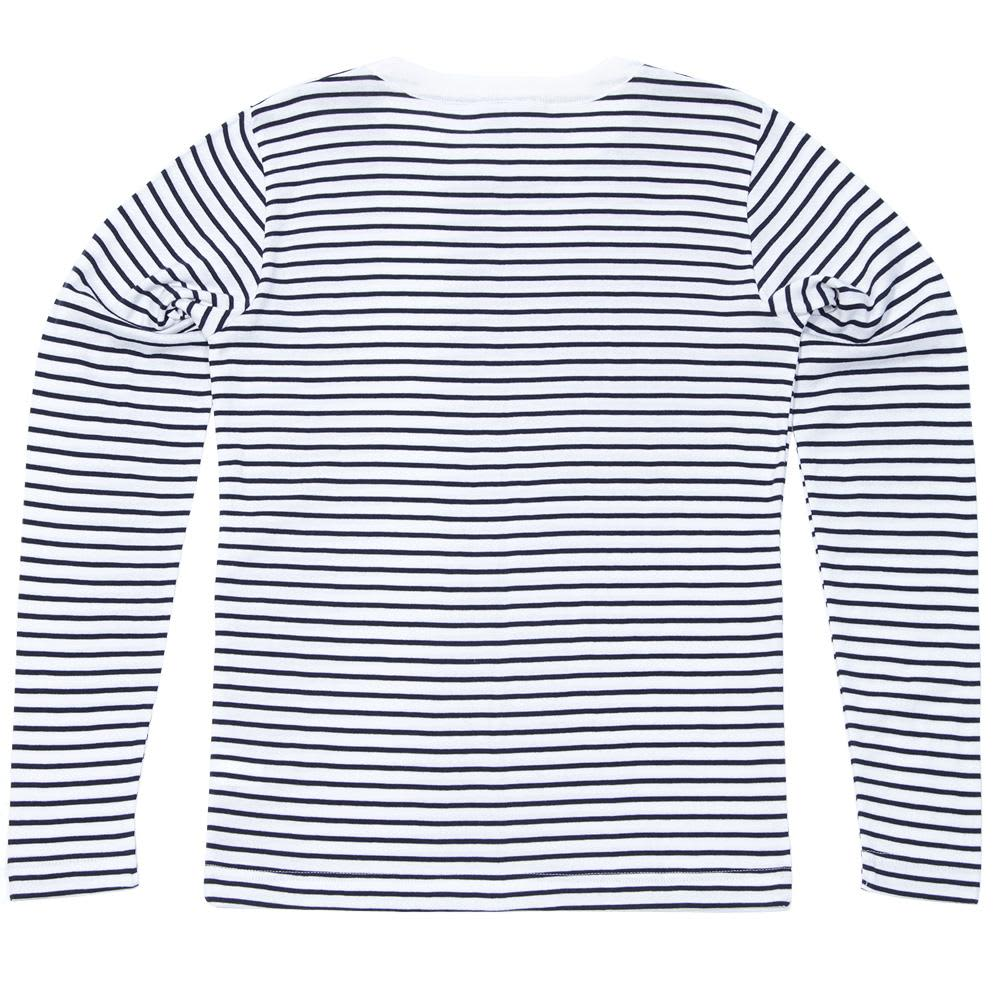 S.N.S Herning Observer Sweater - Pearl & Royal Blue