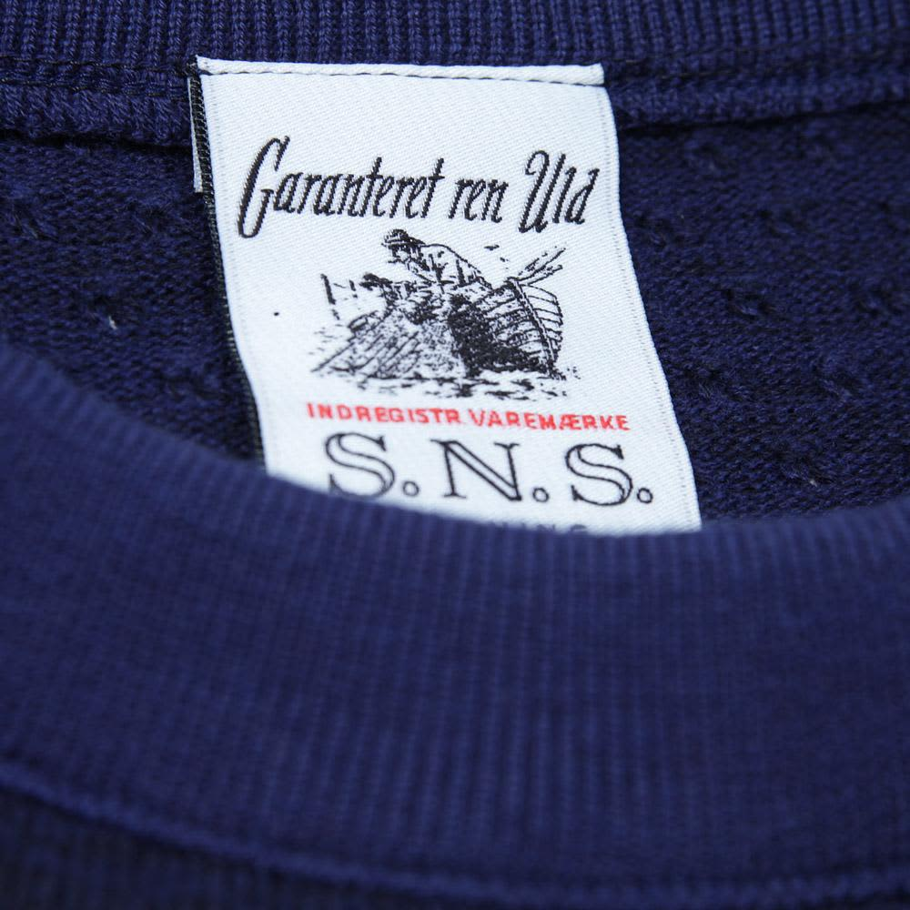 S.N.S Herning Trope Sweater - Bright Blue