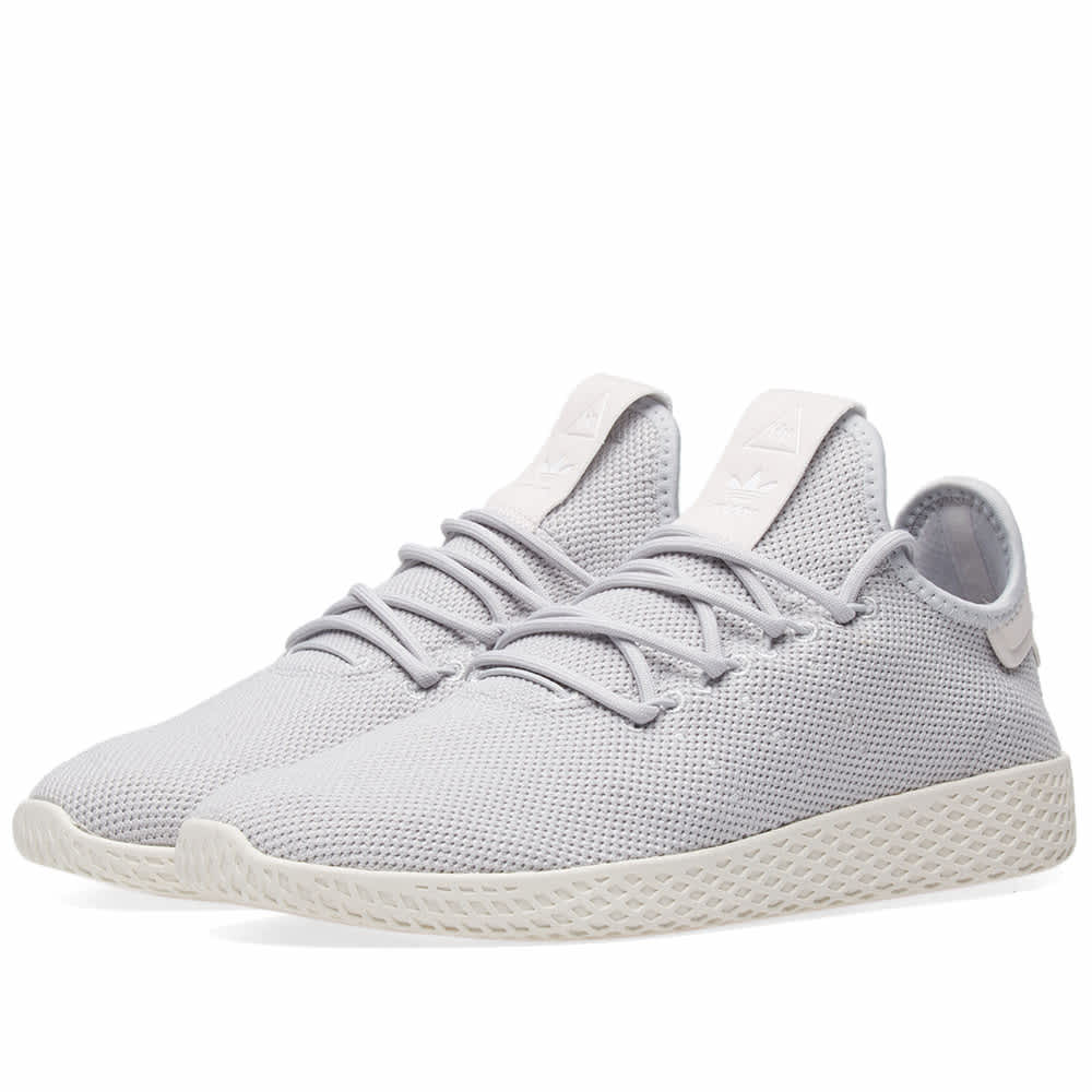 De alguna manera Frase Camión golpeado  Adidas PW Tennis HU W Light Solid Grey & White | END.