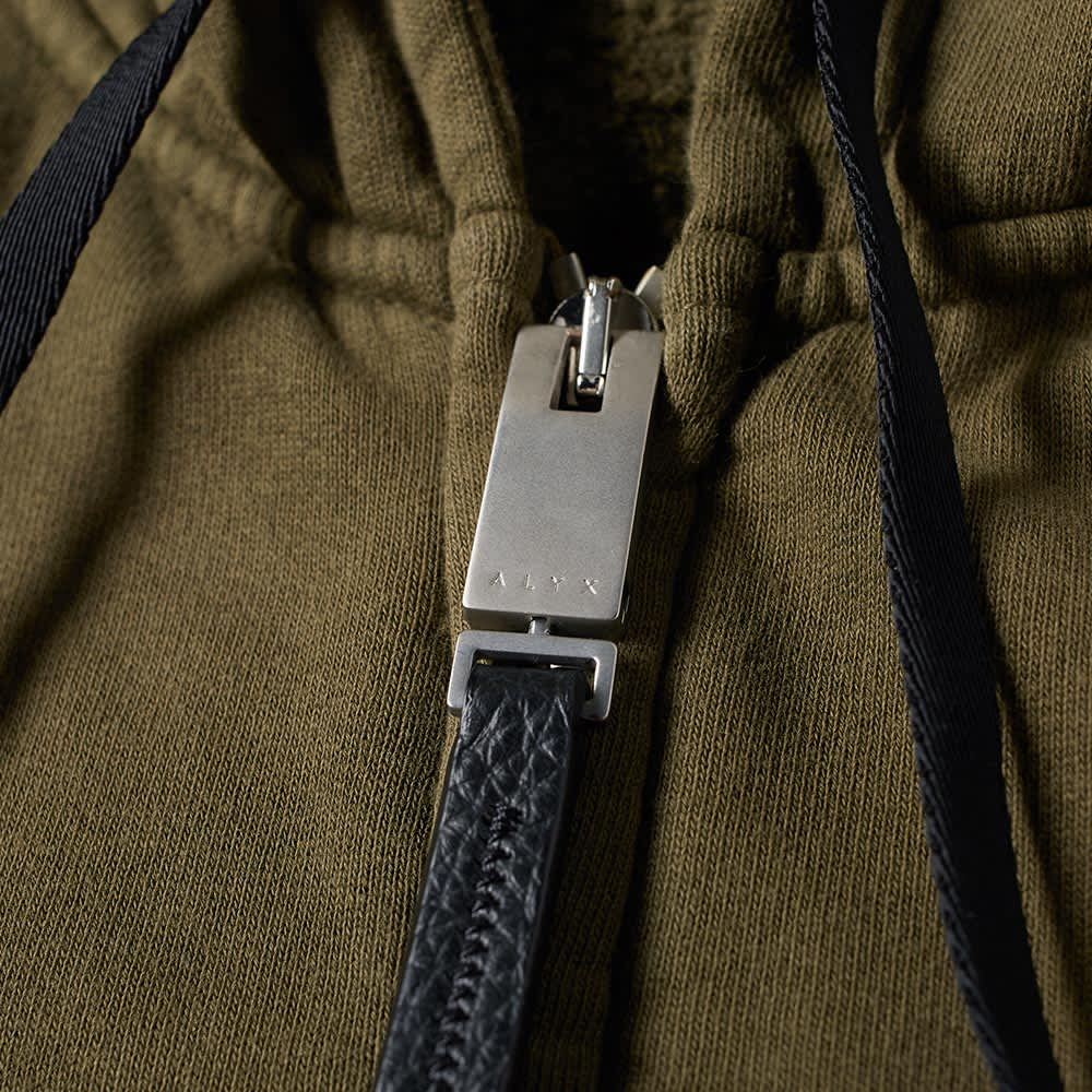 1017 ALYX 9SM Zip Up Velcro Hoody - Dark Olive