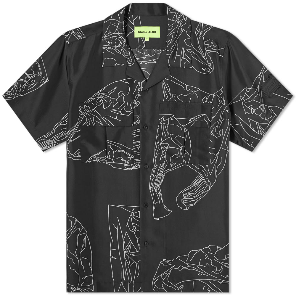 Studio ALCH Printed Silk Shirt