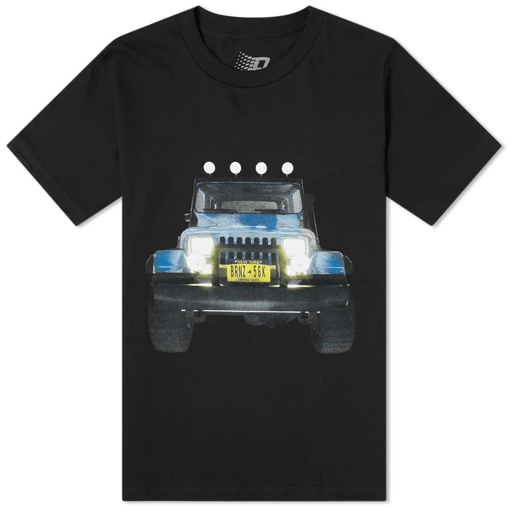 Bronze 56k Jeep Tee - Black
