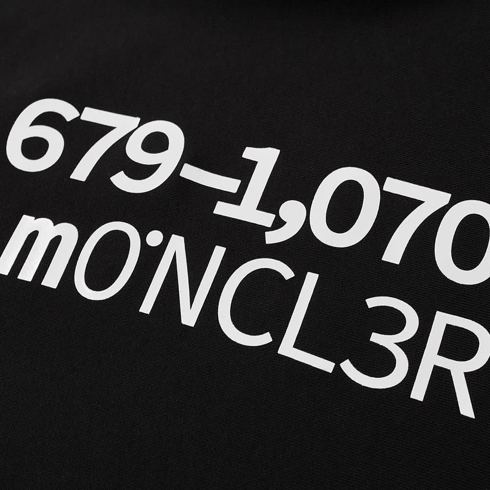 Moncler Genius 2 Moncler 1952 Popover Logo Hoody - Black