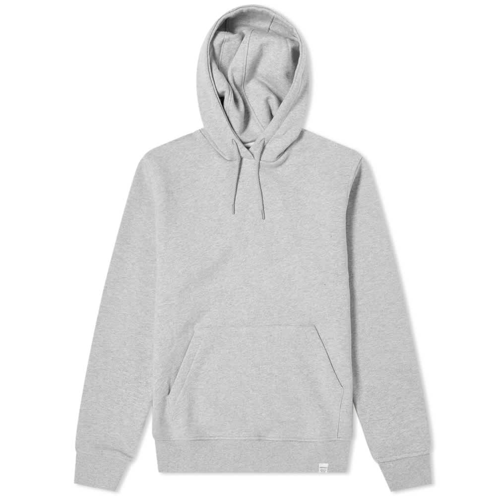 Norse Projects Vagn Classic Hoody - Light Grey Melange