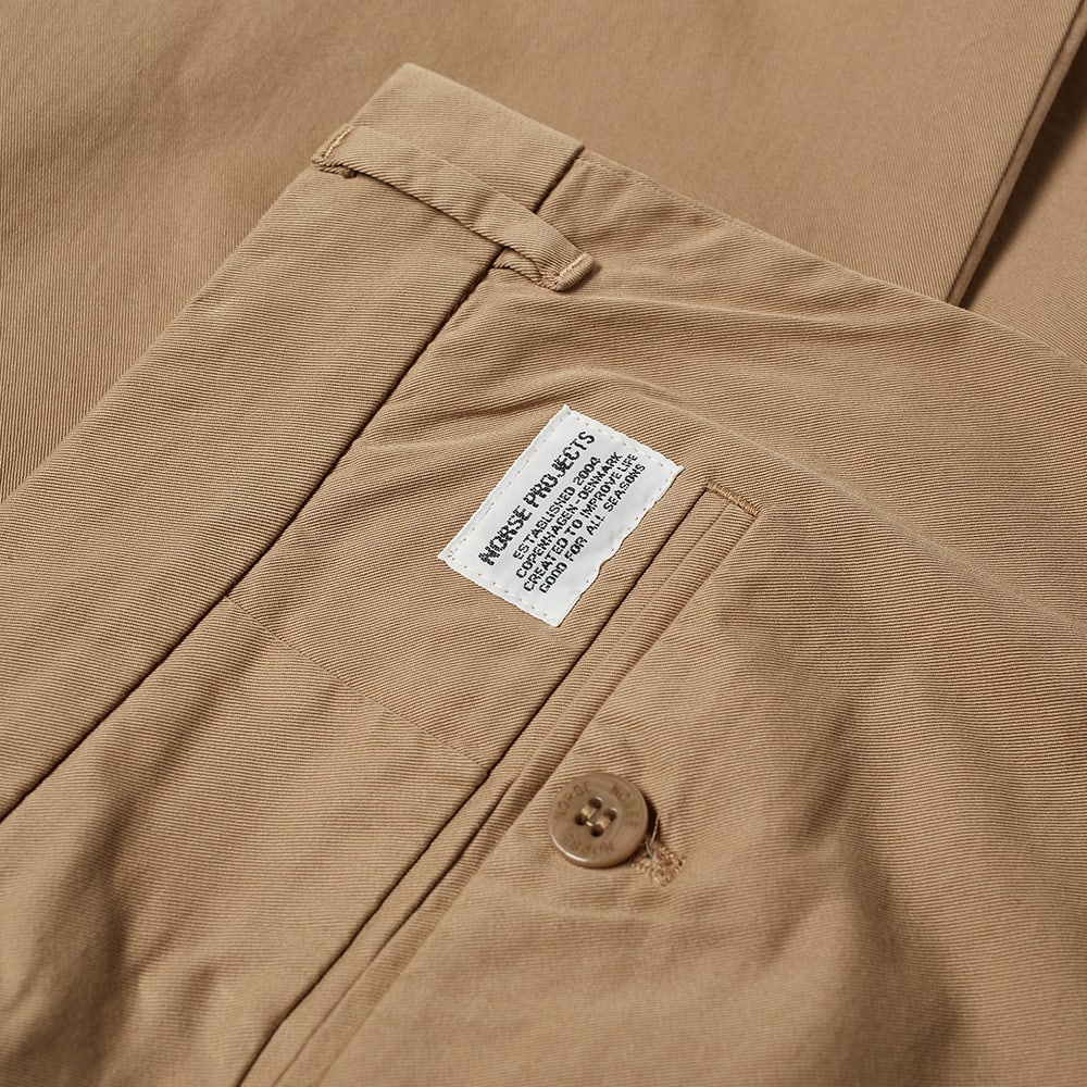 Norse Projects Aros Regular Light Stretch Trouser - Utility Khaki
