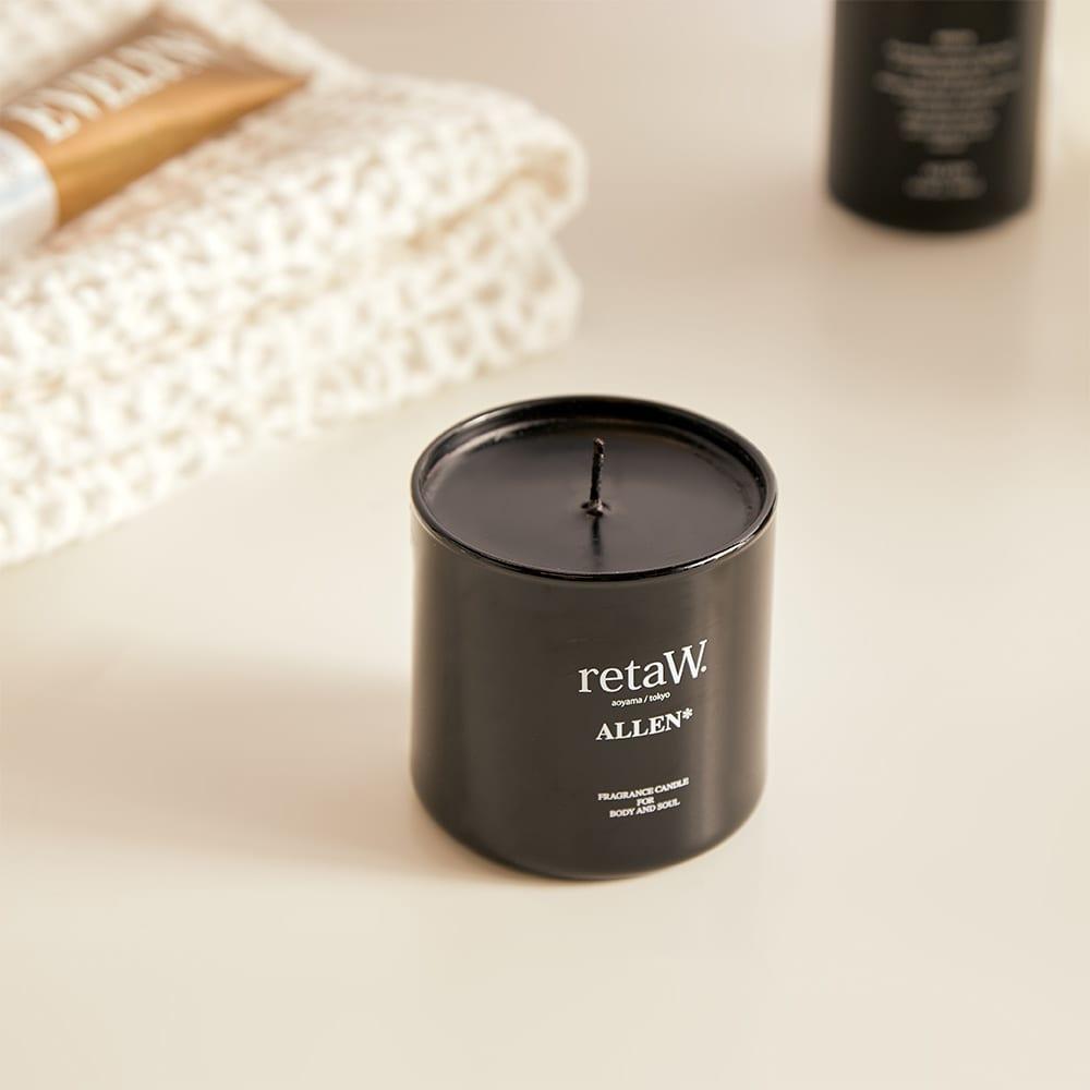 retaW Fragrance Candle - Allen Black*