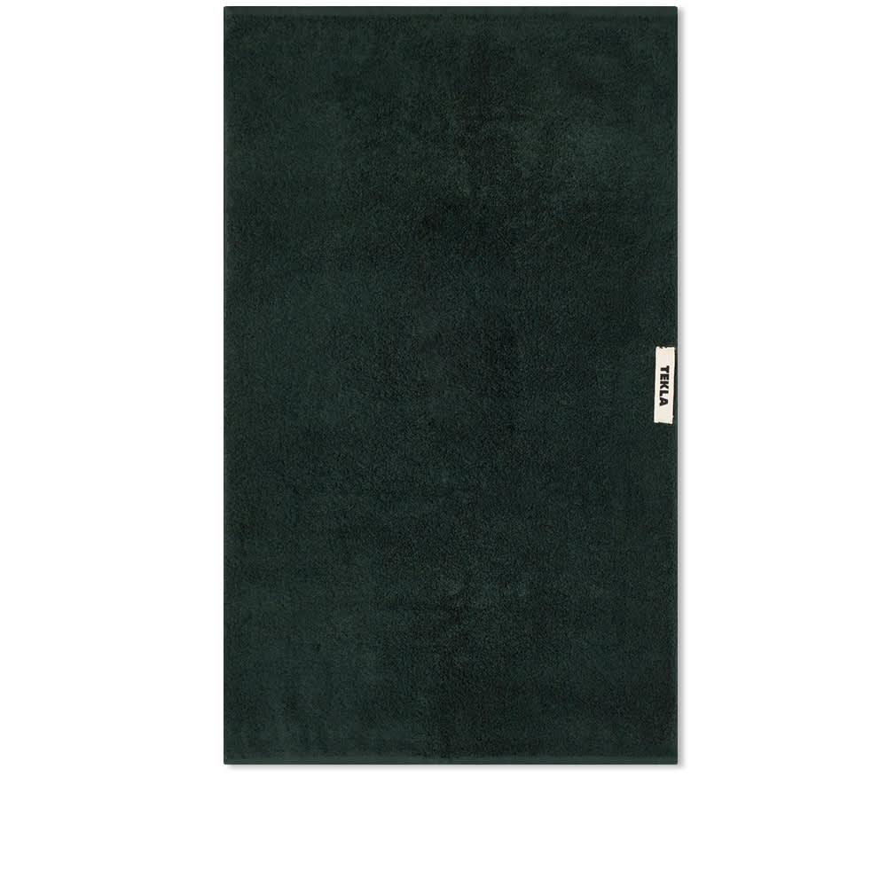 Tekla Fabrics Organic Terry Hand Towel - Forest Green