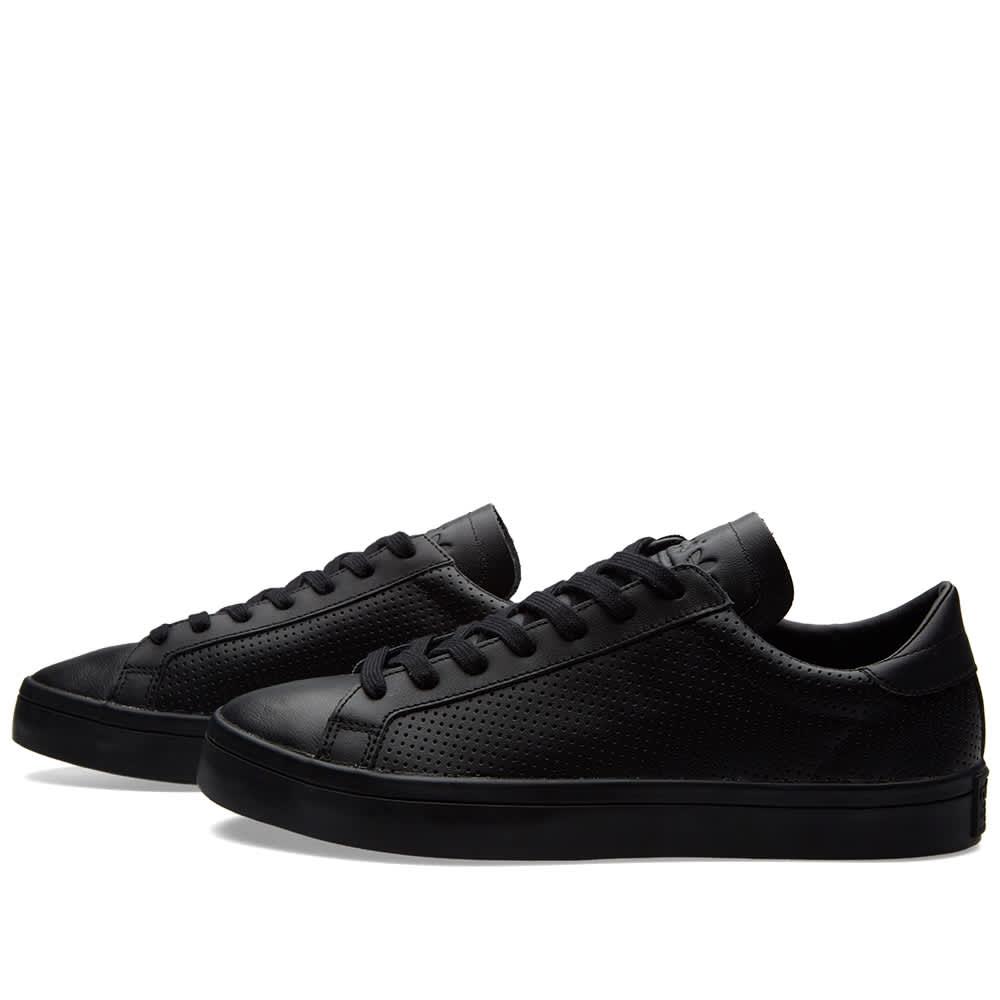 Adidas Court Vantage Core Black \u0026 White